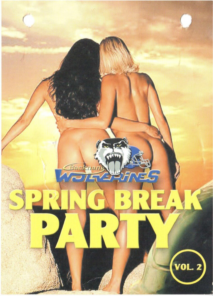 Flyer Spring Break Party 1